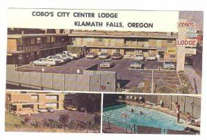 Scenic views,Cobo's City Center Lodge,Klamath Falls,Oregon,40-60s