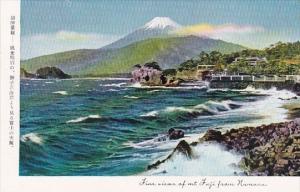 Japan View Of Mt Juji From Numazu