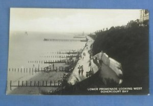 Vintage RP Postcard Lower Promenade Looking West Dovercourt Bay Posted 1931 I1A