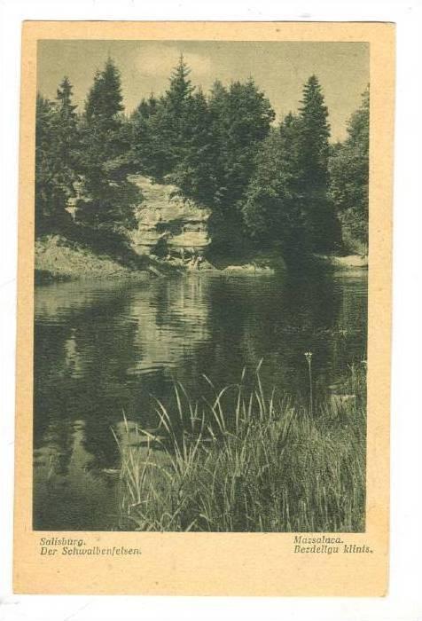 Salisburg. Der Schwalbenfelsen, Latvia ,30-40s
