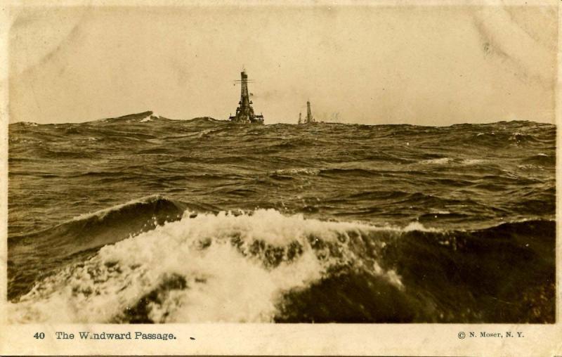 USS New Hampshire,1916- Maneuvering around Block Island, Newport, Rhode Islan...