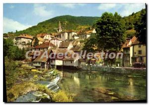 Postcard Modern Lods Vue Generale and La Loue