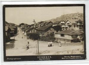 sweden, LYSEKIL, Kyrkviken (1890s) Photographicum
