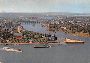 Deutsches Eck Koblenz am Rhein Germany 1961