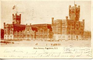 RI - Providence.  Armory