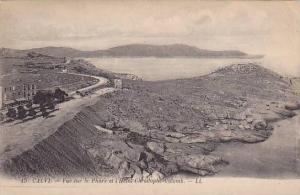 Calvi , France  , 00-10s ; Vue sur le Phare et l'Hotel Christophe-Colomb