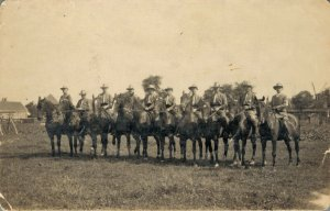 Horse Riders - Sports - Real Photo 1926 03.97