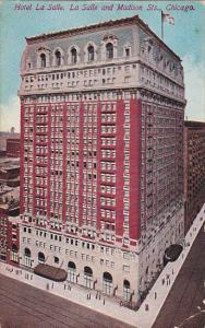 Hotel La Salle Chicago Illinois 1911