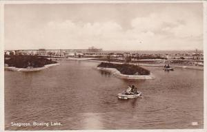 RP, Boating Lake, Skegness (Lancashire), England, UK, 1920-1940s