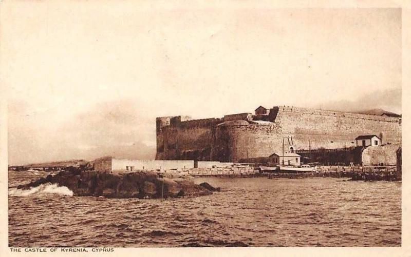 Cyprus The Castle of Kyrenia 1924