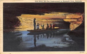 Echo River Mammoth Cave National Park, Kentucky, USA 1943 Missing Stamp