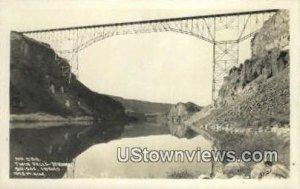 Real Photo - Jerome Bridge - Twin Falls, Idaho ID