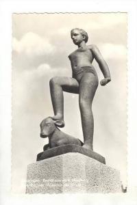 RP: Groningen , province of Groningen , Netherlands. 1940-50s Beeldhouwwerk H...