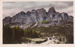 RP, Castle Mountain, Near BANFF, Alberta, Canada, 1920-1940s