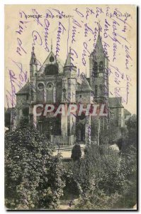 Old Postcard Gonesse S and O Church