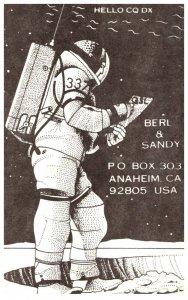 Astronaught , QSL card