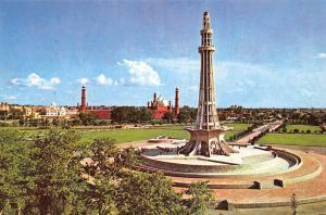Pakistan Minar-e-Pakistan Iqbal Park Lahore Shahi Mosque