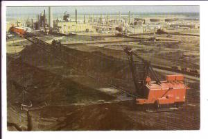 Syncrude Project, Fort McMurray, Alberta, Drills and Machinery, Athabasca Oil...