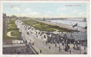 Illinois Rockford Southport Beach Scene 1909