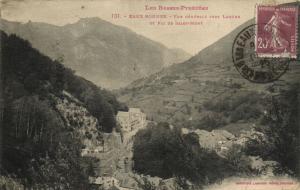 CPA Les Basses-Pyrenées EAUX-BONNES - Vue générale vers LARUNS et (171931)
