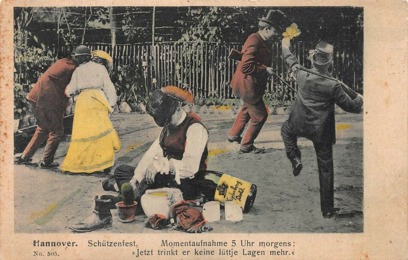 Schutzenfest, Hannover, Germany, Very Early Postcard, Unused