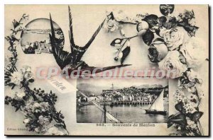 Old Postcard Menton