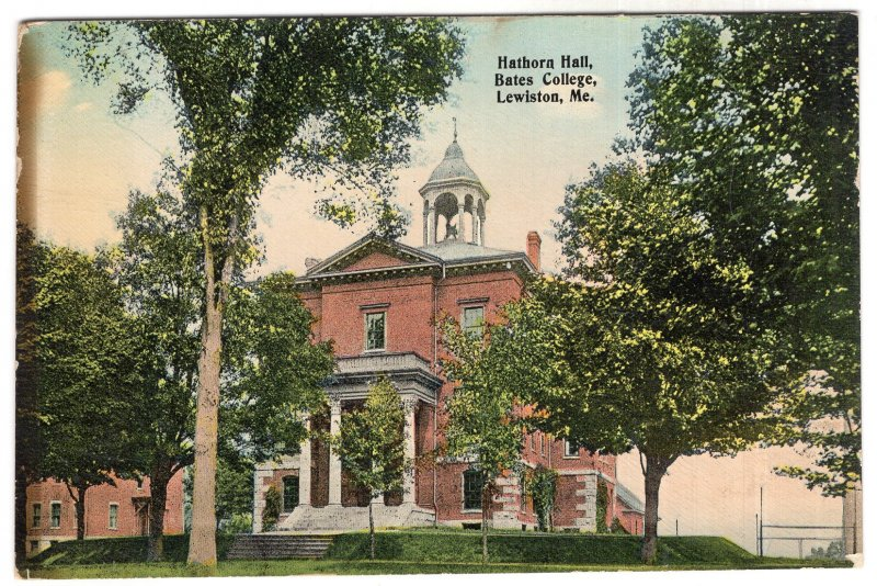 Lewiston, Me, Hathorn Hall, Bates College