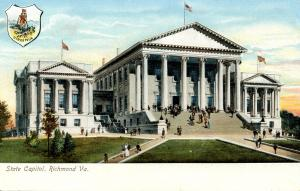 VA - Richmond. State Capitol