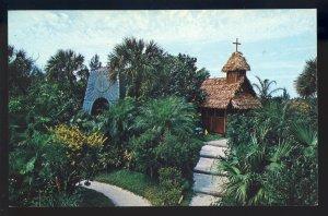 Indian Rocks Beach, Florida/FL Postcard, Sun Temple, Tiki Gardens