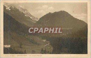 Old Postcard Champery Gran Paradiso