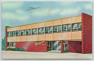 Kansas City MO~Weaver Airline Personnel School~Went On Flight Lab Today~1964