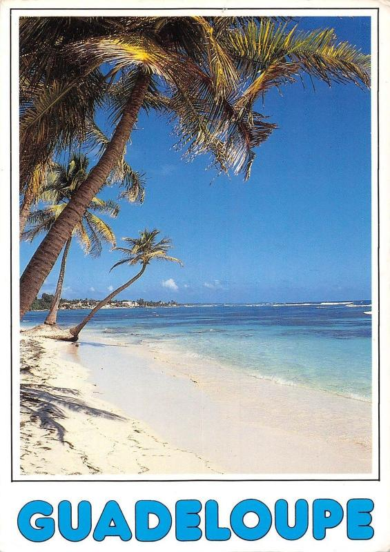 Guadeloupe the beach plage strand exotic coast