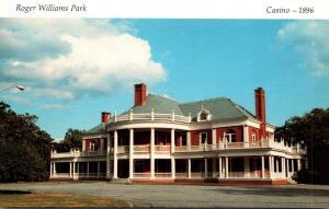 Rhode Island Providence Roger Williams Park Casino