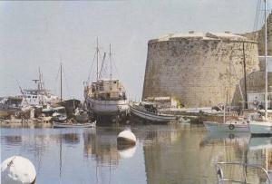 Girne (Kyrenia)  , Kıbrıs (Cyprus) , 60-70s : Castle
