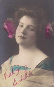 RP (tinted) , Female Head portrait , 00-10s ; Canada publisher Warwick Bros &...