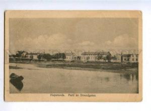 156023 SWEDEN HAPARANDA Strandgatan Vintage postcard
