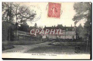 Postcard Old Misy S Yonne Le Chateau