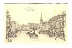 Martyr Place, Place de Martyrs, Verviers, Liege, Belgium, 00-10s