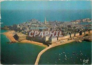 Modern Postcard Saint Malo Cite Corsaire