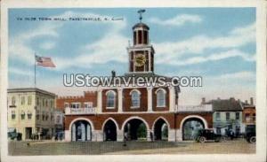 Ye Olde Town Hall Fayetteville NC Unused