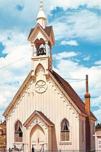 Sheldon Jackson Memorial Chapel - Fairplay, Colorado