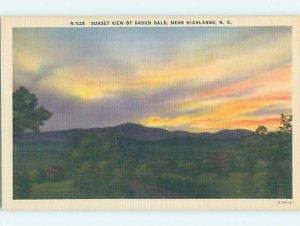 Linen NATURE SCENE Highlands - Near Cashiers & Hendersonville NC AD4384-13