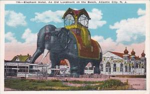 New Jersey Atlantic City Elephant Hotel An old Landmark On The Beach