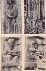 Cathedrale De Chartres 4x Antique French Mint Postcard s