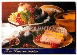 Postcard Modern foie gras terrine