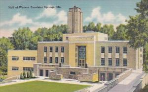 Hall Of Waters Excelsior Springs Missouri 1947