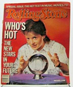 Vintage Rolling Stone Magazine May 22, 1986 Michael J. Fox