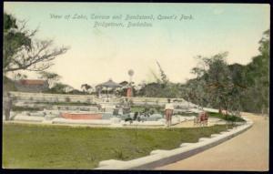 barbados, B.W.I., BRIDGETOWN, Queen's Park, Bandstand (1910s)