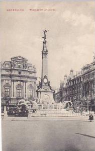 Belgium Brussels Monument Anspach