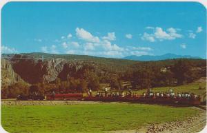Miniature Train , 40-60s ; Canon City , Colorado